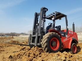 3.0Ton All Terrain Forklift